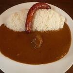 カレーハウス シェフ - ビーフカレー699円+ソーセージ149円