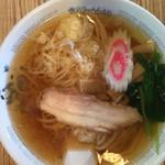 平和庵 - 料理写真:正油ラーメン600円