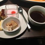 30's - デザートとコーヒー