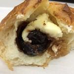 長野ベーカリー - いちじくクリームチーズ。こんな感じ。