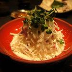 ZAJI - これも定番「大根サラダ」箸休めに。これも絶品