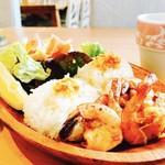 ハワイアンタイム - Garlic Shrimp!!