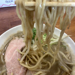 ぼたん - ガッツリ太めの太麺です