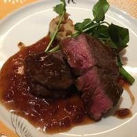 SAMURAI dos Premium Steak House-牛フィレのステーキ(120g)