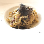 レオーネ・マルチアーノ - パンチェッタのバターソース 黒トリュフがけ