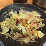 茶和 - 豚肉野菜炒め