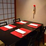 日本料理 おおつかようすけ - 個室2部屋ご用意しております。 テーブル席4名様
