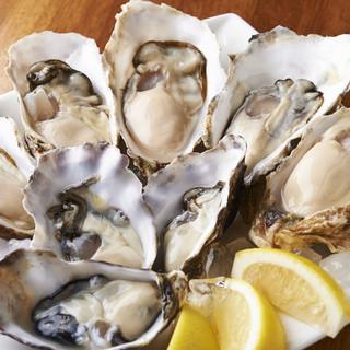新鮮牡蠣の濃厚な味わいをご堪能あれ。
