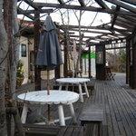 インド料理専門店 ケララハウス - 冬のテラス(2011-1)
