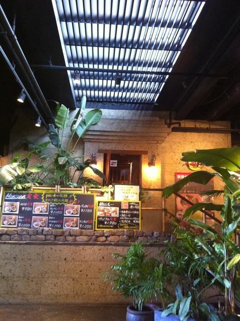 モンスーンカフェ お台場 - 入り口