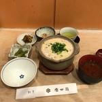 唐井筒 - スッポン雑炊(1550円)