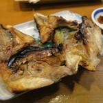 海鮮居酒屋山水 - シマアジかま焼き