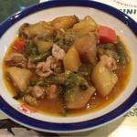 ボスボラス ハサン - ケバブチキン肉とたっぷり野菜の煮込み