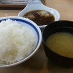天ぷら はまや - ・上定食 1000円 ご飯と味噌汁