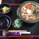 63238054 - 納豆味噌鍋うどん ¥1030