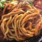 二丁目つけめん ガチ - 太麺