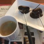 Bacana Demais - ランチ チョコレートフォンデュ&エスプレッソ