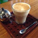 オリエンタル カフェ - カフェラテ