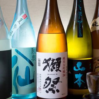 ~料理にあった日本酒で~