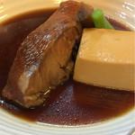 和料理 八車 - キンキの煮付け(900円)