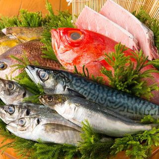 【産地直送】能登産鮮魚、鎌倉野菜…食材にこだわり