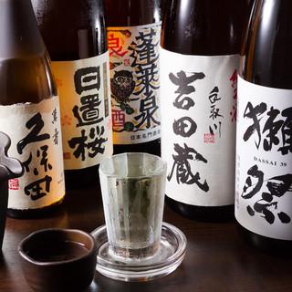 日本酒フェア実施中♪今月のおすすめはどこの県?