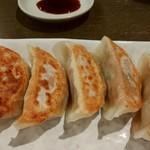 麺屋 葵 - 餃子