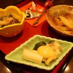 創作和食 田 - 前菜…お雛様がとても可愛いく、季節を感じられました。