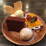 文世食堂 - デザートの盛合せ (小盛り)