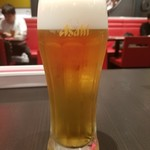 ミート ラッシュ ヨドバシAKIBA店 - 生ビール(626円)