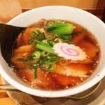 越後秘蔵麺 無尽蔵 - 生姜醤油焼豚麺