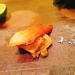 鮨 栄美古 - ホッキ貝醤油焼き