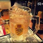 ホルモン・餃子居酒屋 たびたび - 角ハイボール