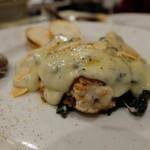 オステリア・ピノ・ジョーヴァネ - 真鱈の白子とホウレンソウのグラタン仕立て(2052円)
