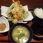 美や川 - 天ぷら定食