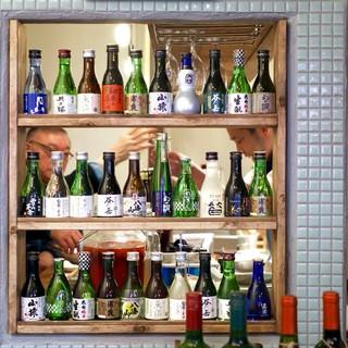 飲みきりサイズの【日本酒】