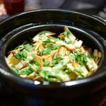 傳 - 素揚げ筍の炊き込みご飯