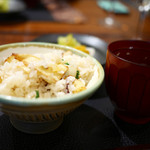 傳 - 筍の炊き込みご飯