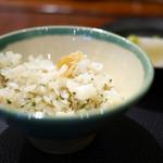 傳 - 甘鯛の炊き込みご飯