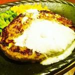 ステーキガーデン - ホワイトガーリックバターハンバーグ