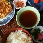 井筒屋 - 駿河定食1750円です。