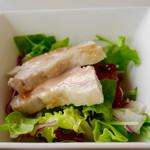 Shisenhanten - 2016/12/9  蒸し鶏のサラダ