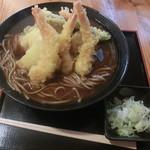 そば天 - 料理写真:天ぷらそば