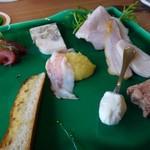 シュタットマインツ - ◆前菜盛り合わせ。 シャルキトリーも美味しそう~