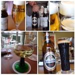 シュタットマインツ - この日いただいたビールやワイン