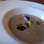 シュタットマインツ - ◆レンズマメのスープ・・ポタージュ風で濃厚で美味しい。