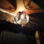 ビューティーバー - 入口の照明