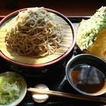露伴 - 料理写真:大天もり蕎麦 1,300円