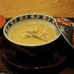 63261962 - 穴子茶碗蒸し