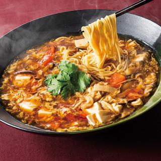 ★三種類のこだわりサンラータン麺